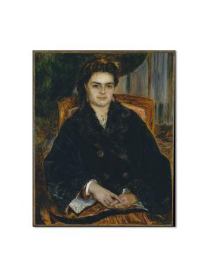 Tablou Arta Clasica Pictor Pierre-Auguste Renoir Madame Marie Octavie Bernier 1871 80 x 90 cm
