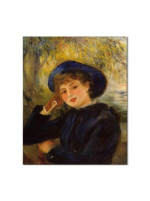 Tablou Arta Clasica Pictor Pierre-Auguste Renoir Woman leaning on her elbow 1882 80 x 90 cm