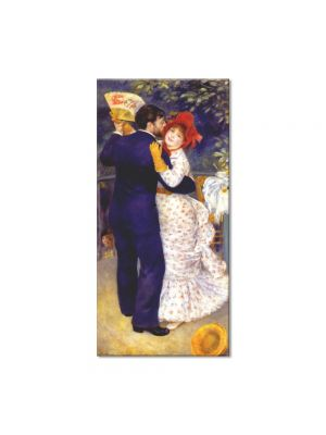Tablou Arta Clasica Pictor Pierre-Auguste Renoir Dance in the country Aline Charigot and Paul Lhote 1883 80 x 40 cm