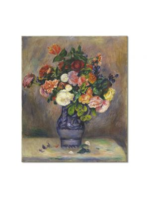 Tablou Arta Clasica Pictor Pierre-Auguste Renoir Flowers in a Vase 1880 80 x 90 cm