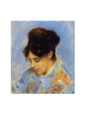 Tablou Arta Clasica Pictor Pierre-Auguste Renoir Portrait of Madame Claude Monet 1872 80 x 90 cm