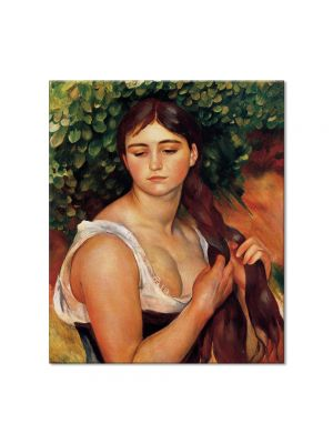 Tablou Arta Clasica Pictor Pierre-Auguste Renoir The Braid Suzanne Valadon 1886 80 x 90 cm