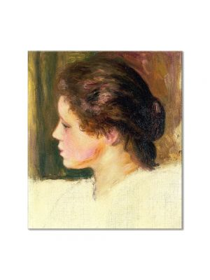 Tablou Arta Clasica Pictor Pierre-Auguste Renoir Womans head 1887 80 x 90 cm