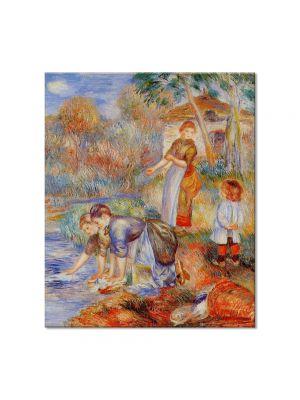 Tablou Arta Clasica Pictor Pierre-Auguste Renoir Laundresses 1888 80 x 90 cm