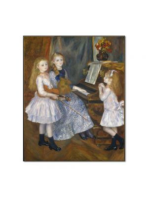 Tablou Arta Clasica Pictor Pierre-Auguste Renoir The daughters of Catulle Mendes 1888 80 x 90 cm