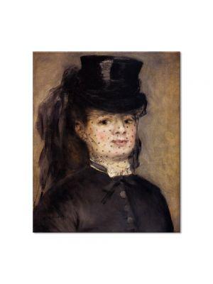 Tablou Arta Clasica Pictor Pierre-Auguste Renoir Madame Darras as an horsewoman 1873 80 x 90 cm