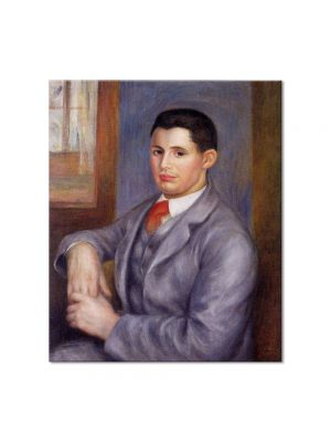 Tablou Arta Clasica Pictor Pierre-Auguste Renoir Portrait of Eugene Renoir 1890 80 x 90 cm