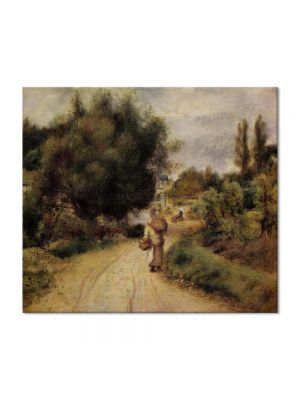 Tablou Arta Clasica Pictor Pierre-Auguste Renoir On the banks of the river 1895 80 x 90 cm