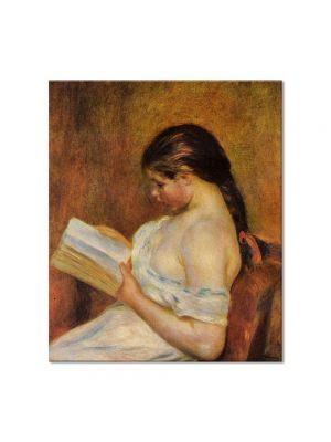 Tablou Arta Clasica Pictor Pierre-Auguste Renoir Young girl reading 1895 80 x 90 cm
