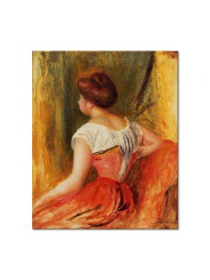 Tablou Arta Clasica Pictor Pierre-Auguste Renoir Seated young woman 1896 80 x 90 cm