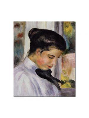Tablou Arta Clasica Pictor Pierre-Auguste Renoir Young woman in profile 1897 80 x 90 cm