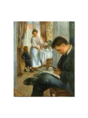 Tablou Arta Clasica Pictor Pierre-Auguste Renoir Breakfast at Berneval 1898 80 x 90 cm