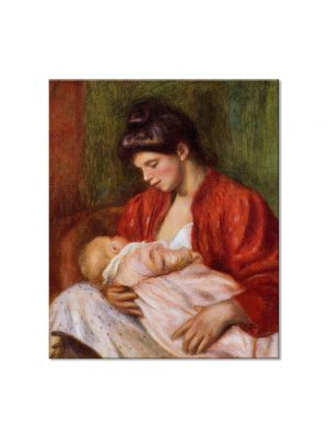 Tablou Arta Clasica Pictor Pierre-Auguste Renoir Young mother 1898 80 x 90 cm