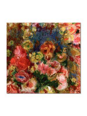 Tablou Arta Clasica Pictor Pierre-Auguste Renoir Flowers 1902 80 x 80 cm