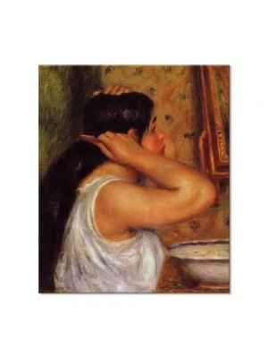 Tablou Arta Clasica Pictor Pierre-Auguste Renoir Woman combing her hair 1908 80 x 90 cm