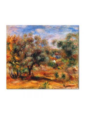 Tablou Arta Clasica Pictor Pierre-Auguste Renoir Landscape near Cagnes 1910 80 x 90 cm