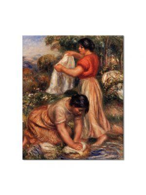 Tablou Arta Clasica Pictor Pierre-Auguste Renoir Laundresses 1912 80 x 90 cm