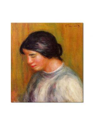 Tablou Arta Clasica Pictor Pierre-Auguste Renoir Portrait of a young girl 1912 80 x 90 cm