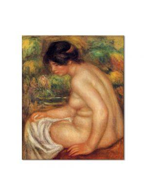 Tablou Arta Clasica Pictor Pierre-Auguste Renoir Seated nude in profile Gabrielle 1913 80 x 90 cm