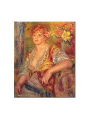 Tablou Arta Clasica Pictor Pierre-Auguste Renoir Dedee in spanish dress 1917 80 x 90 cm