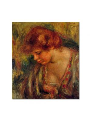 Tablou Arta Clasica Pictor Pierre-Auguste Renoir Profile of Andre leaning over 1917 80 x 90 cm