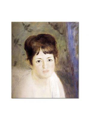 Tablou Arta Clasica Pictor Pierre-Auguste Renoir Head of a woman 1876 80 x 90 cm