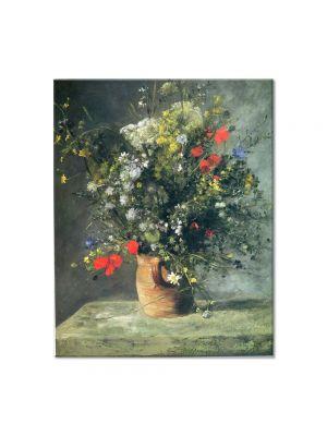 Tablou Arta Clasica Pictor Pierre-Auguste Renoir Flowers in a vase 1866 80 x 100 cm