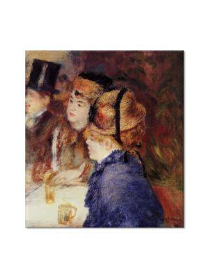 Tablou Arta Clasica Pictor Pierre-Auguste Renoir At the cafe 1877 80 x 90 cm
