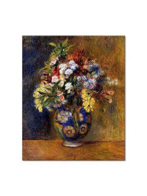 Tablou Arta Clasica Pictor Pierre-Auguste Renoir Flowers in a vase 1878 80 x 90 cm