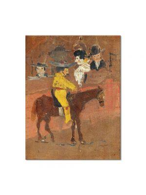 Tablou Arta Clasica Pictor Pablo Picasso The picador 1890 80 x 100 cm