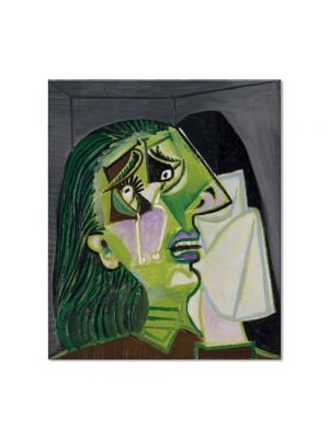 Tablou Arta Clasica Pictor Pablo Picasso Weeping woman 1937 80 x 90 cm
