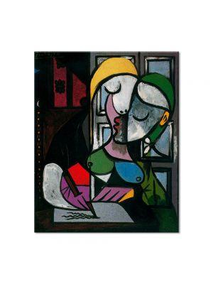 Tablou Arta Clasica Pictor Pablo Picasso Woman writing 1934 80 x 100 cm