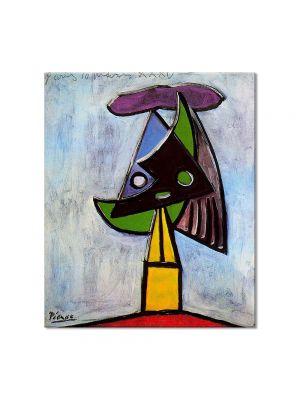 Tablou Arta Clasica Pictor Pablo Picasso Head of a woman. Olga Picasso 1935 80 x 90 cm