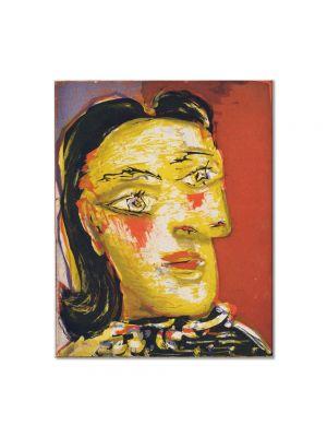Tablou Arta Clasica Pictor Pablo Picasso Head of a Woman No. 4, Portrait of Dora Maar 1939 80 x 100 cm