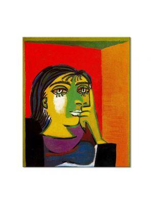 Tablou Arta Clasica Pictor Pablo Picasso Portrait of Dora Maar 1937 80 x 90 cm