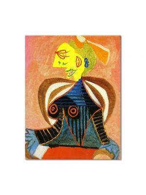 Tablou Arta Clasica Pictor Pablo Picasso Portrait of Lee Miller as Arlesienne 1937 80 x 100 cm