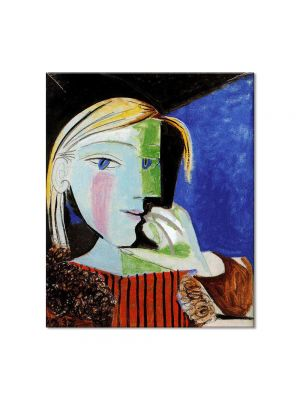 Tablou Arta Clasica Pictor Pablo Picasso Portrait of Marie-Therese Walter 1937 80 x 90 cm