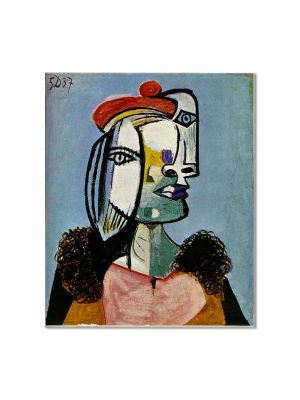 Tablou Arta Clasica Pictor Pablo Picasso Marie-Therese Walter 1938 80 x 90 cm