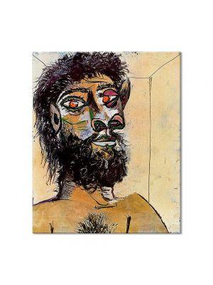 Tablou Arta Clasica Pictor Pablo Picasso Fauns head 1938 80 x 90 cm