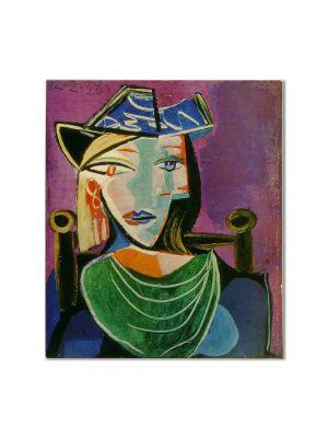 Tablou Arta Clasica Pictor Pablo Picasso Head of a Woman 1938 80 x 90 cm