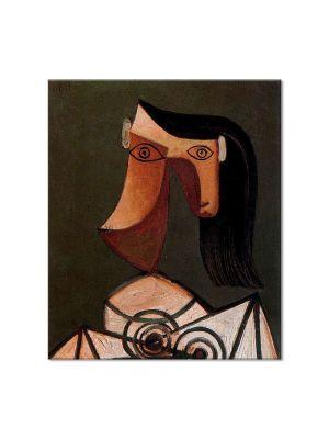 Tablou Arta Clasica Pictor Pablo Picasso Womans head 1939 80 x 90 cm