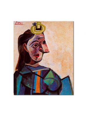 Tablou Arta Clasica Pictor Pablo Picasso Bust of a woman 1942 80 x 90 cm