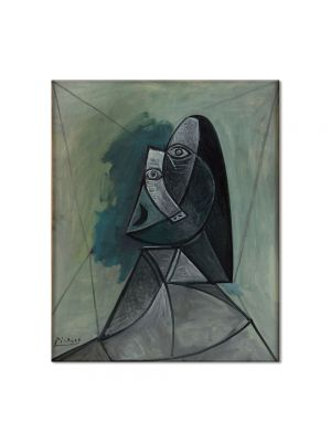 Tablou Arta Clasica Pictor Pablo Picasso Bust of woman 1943 80 x 90 cm