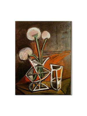 Tablou Arta Clasica Pictor Pablo Picasso Vase with flowers 1943 80 x 100 cm