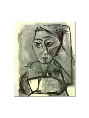 Tablou Arta Clasica Pictor Pablo Picasso Portrait of a Woman 1955 80 x 90 cm