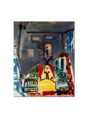 Tablou Arta Clasica Pictor Pablo Picasso Las Meninas, after Diego Velazquez 1960 80 x 90 cm