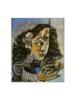 Tablou Arta Clasica Pictor Pablo Picasso Maria Agustina Sarmiento, after Diego Velazquez 1957 80 x 90 cm
