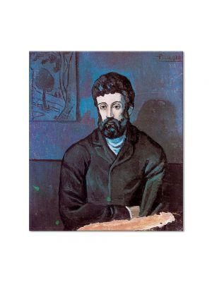 Tablou Arta Clasica Pictor Pablo Picasso Man in blue 1902 80 x 90 cm