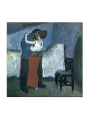 Tablou Arta Clasica Pictor Pablo Picasso Embrace 1900 80 x  80 cm
