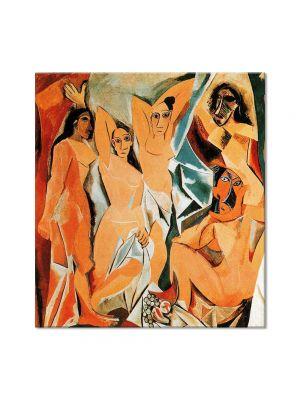 Tablou Arta Clasica Pictor Pablo Picasso The girls of Avignon 1907 80 x 90 cm